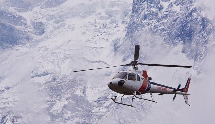 Heli Mountain Flight Tour in Nepal