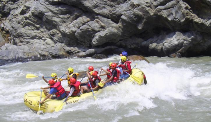 Rafting in Trisuli River